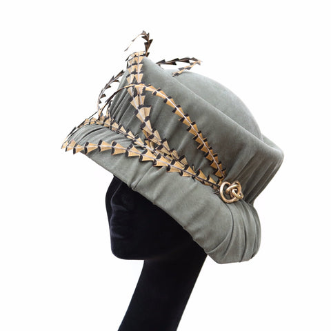 Olive Bucket Cloche