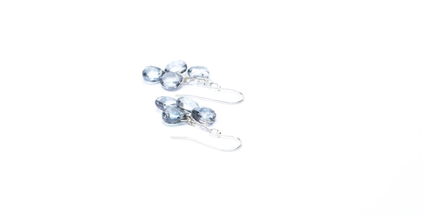 Iolite Ice Earrings ~ LOW STOCK