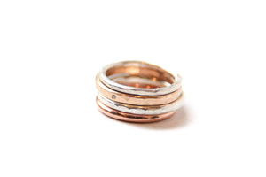 Little finger ring stack