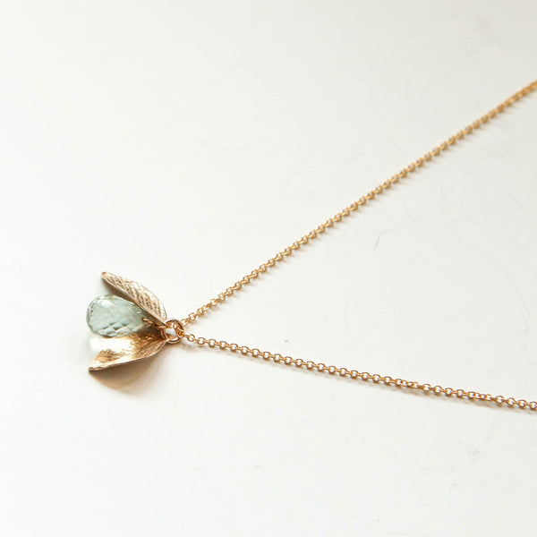 Green Amethyst Leaf