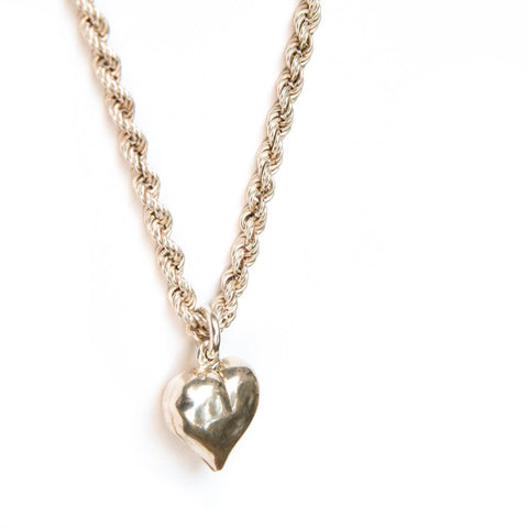 Vintage Chain Heart ~ SOLD