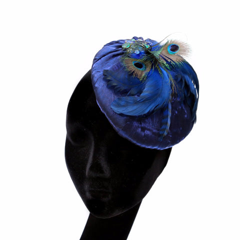 Peacock Blue ~ SOLD
