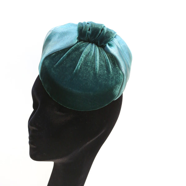 Teal Organza Bow
