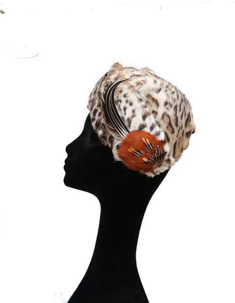 Orange Leopard ~ SOLD