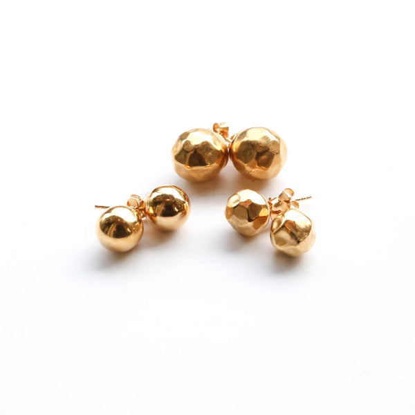 Sterling Silver & Gold~filled Studs