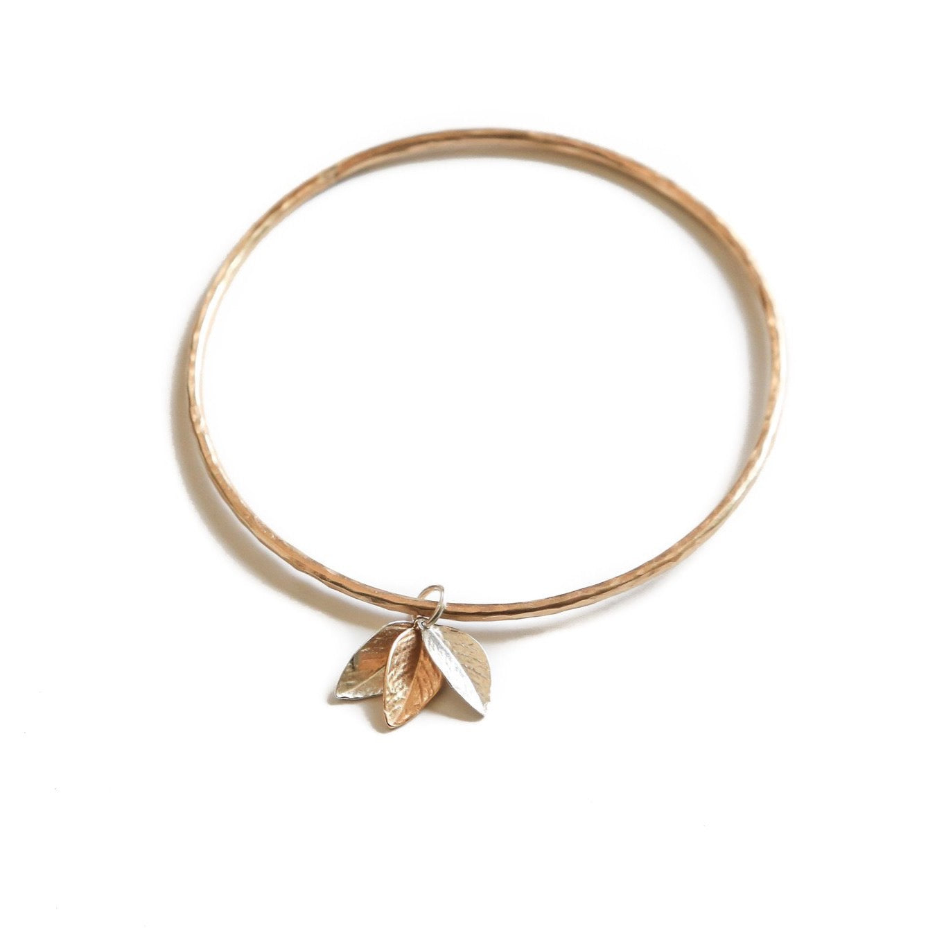 Gold & Silver Leaf Bangle