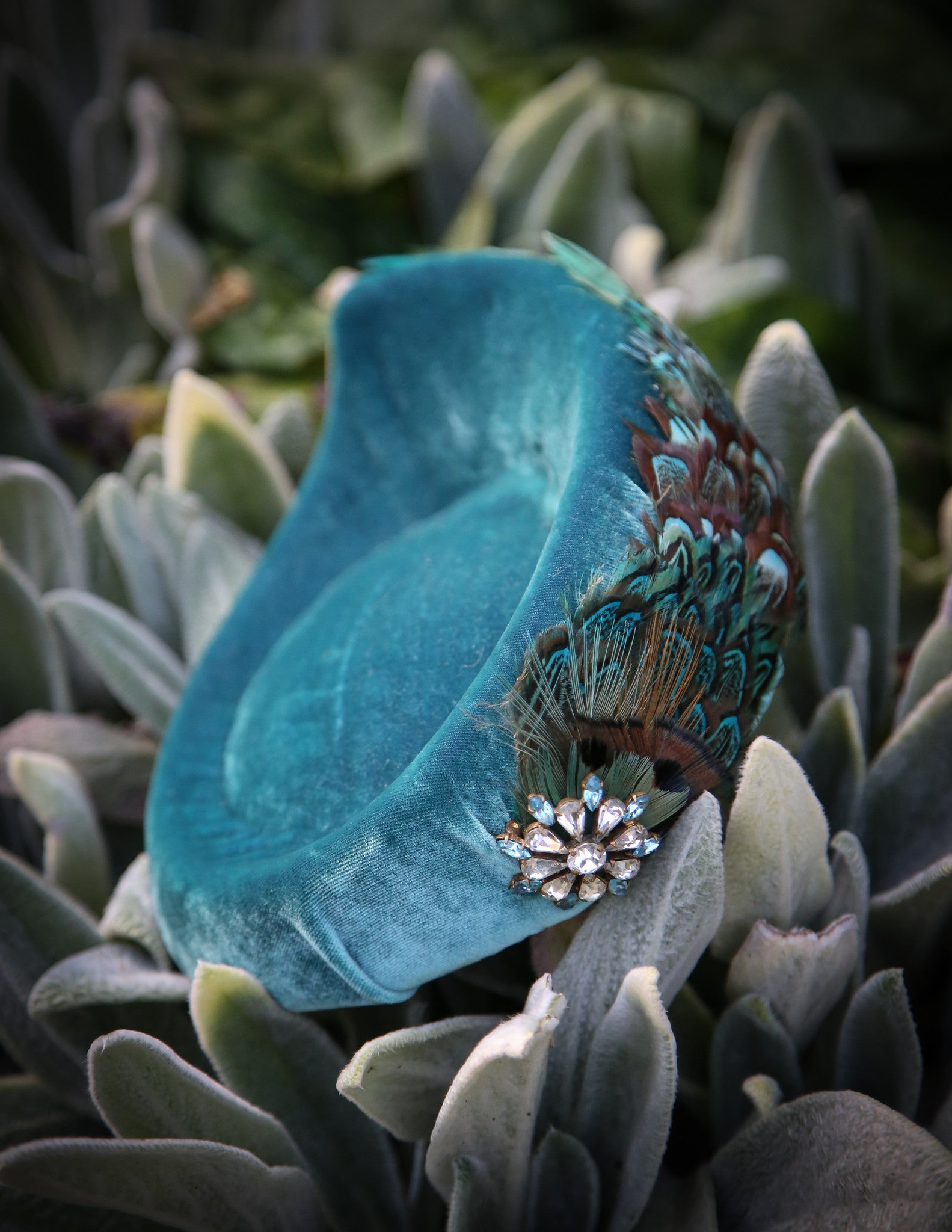 Turquoise Pheasant ~ SOLD