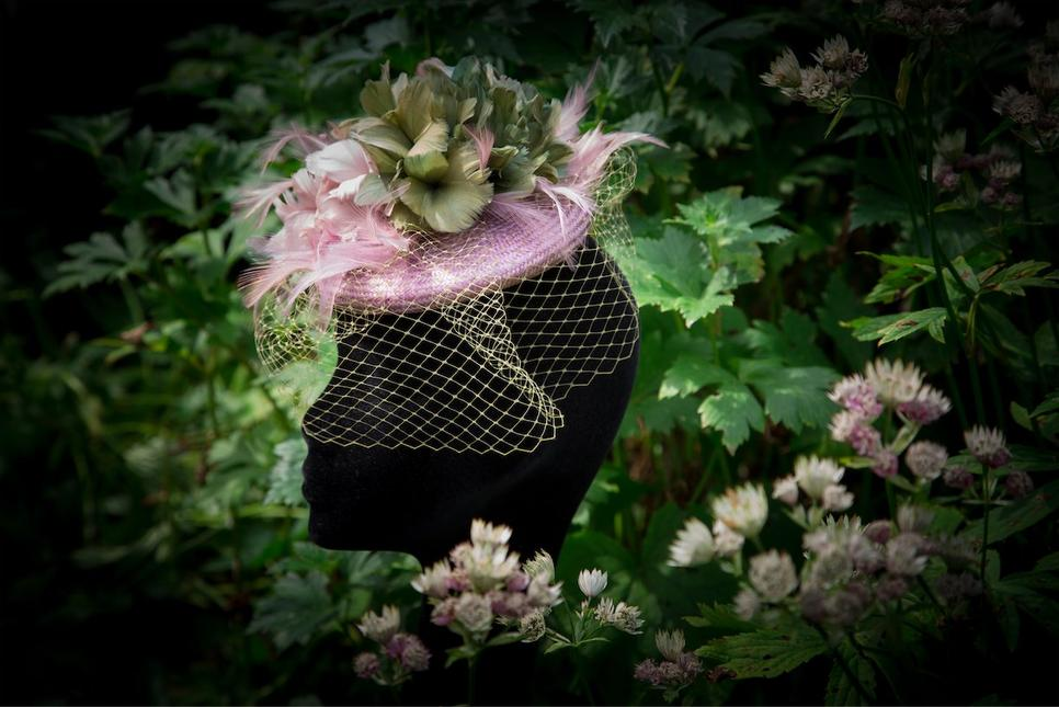 Beautiful utterly unique couture hats