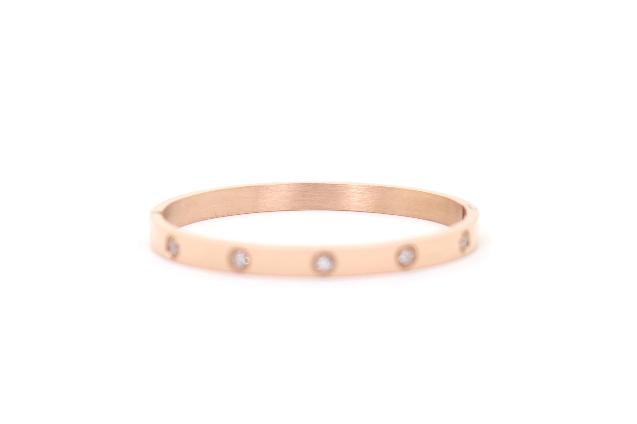 Love Bracelet (Rose Gold No Stones)