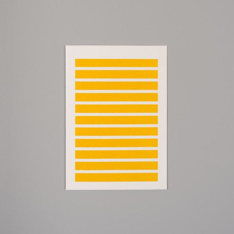 Stripe yellow card