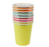 Neon mix cups
