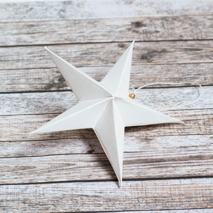Paper ornaments star