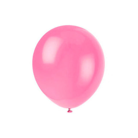 Neon pink balloons (small)