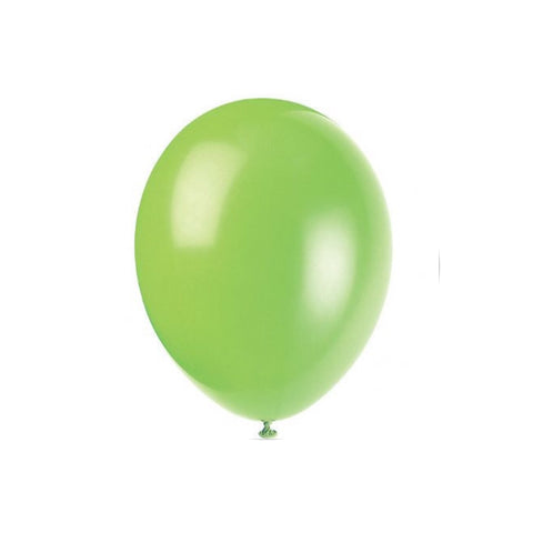 Light green balloons