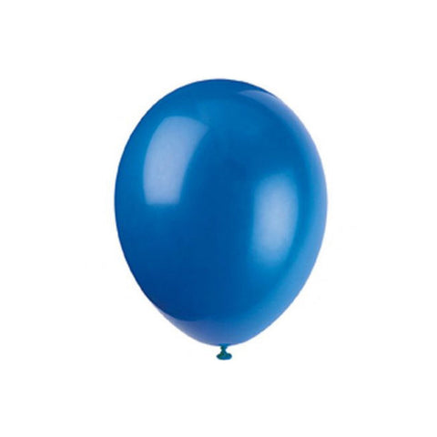 Royal blue balloons