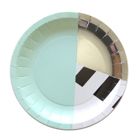 memphis-gris-paper-plate-bash-chicago-switzerland-assiette-papier-suisse-mint