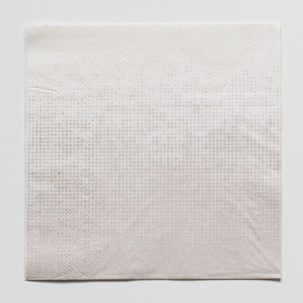 Grey pattern napkins