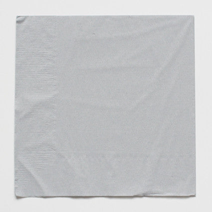 Solid grey napkins