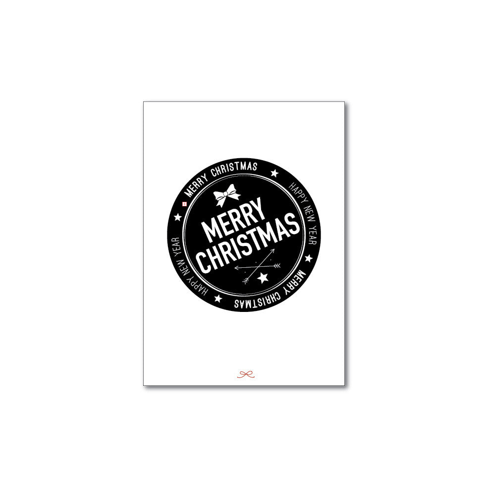 Printable Christmas stamp