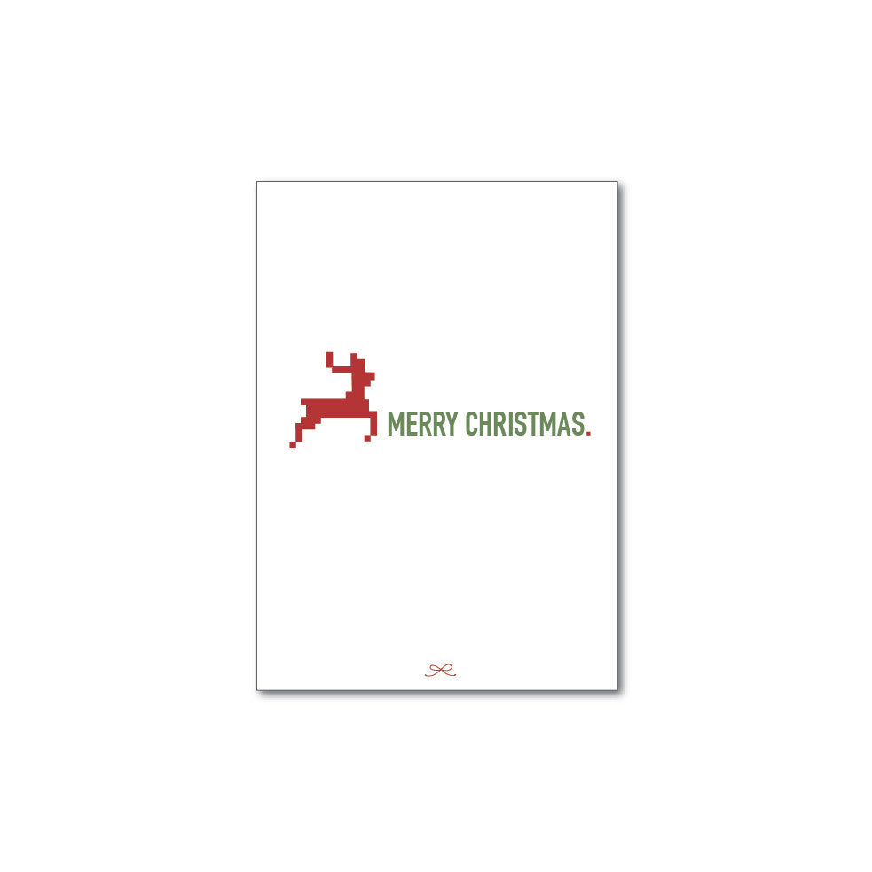 Printable Christmas reindeer
