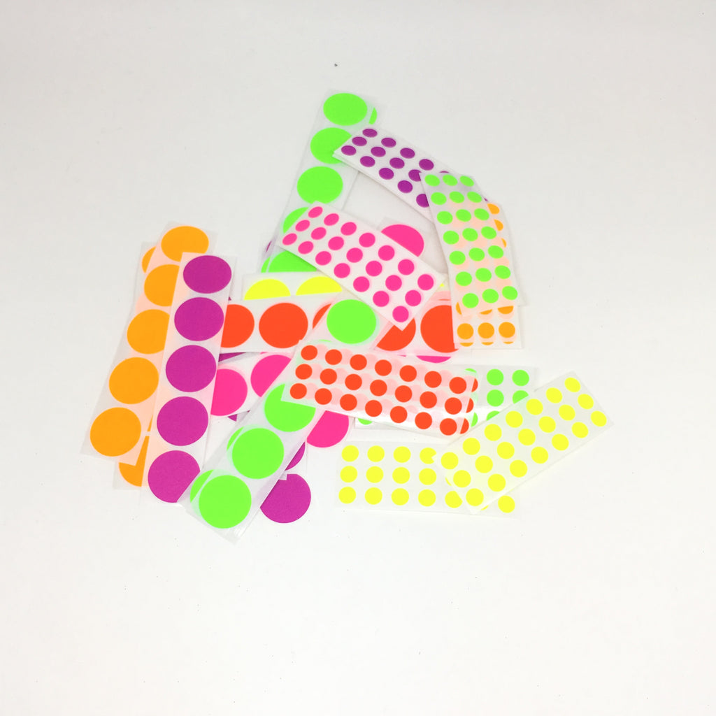 Neon pack stickers