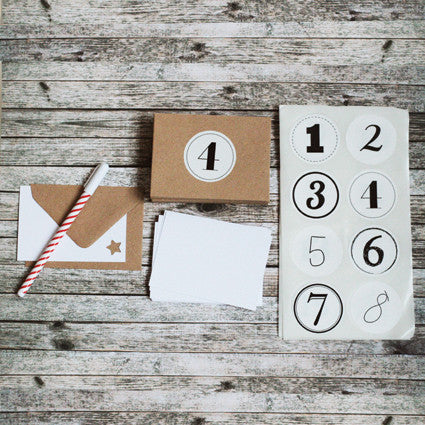 Advent calendar - Cards & envelopes