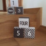 Printable Advent Calendar Boxes_Black & White