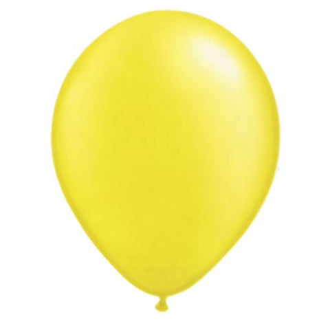 Balloon citrine yellow
