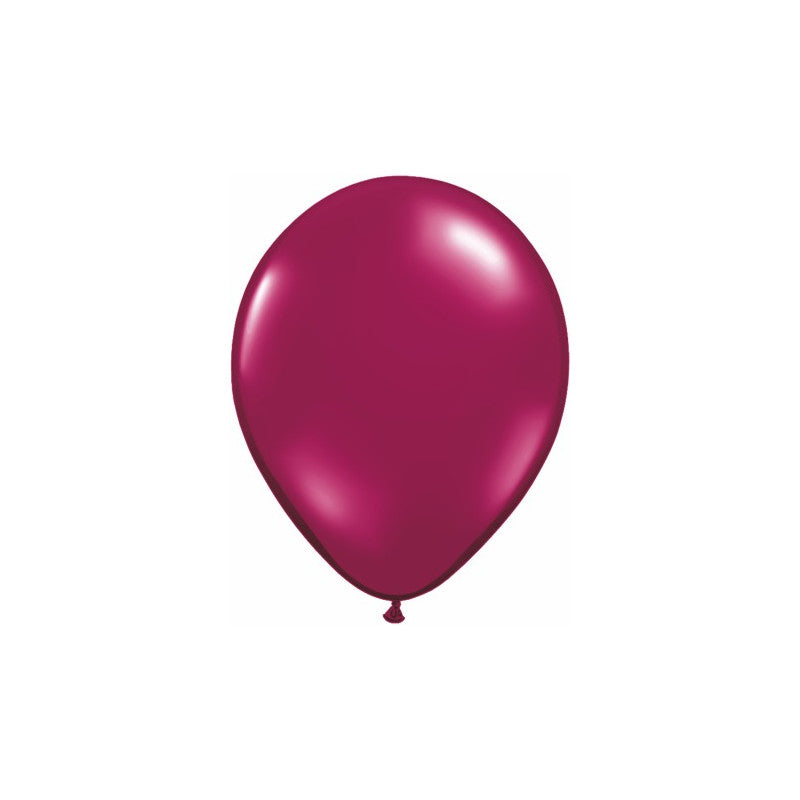 Balloon sparkling burgundy