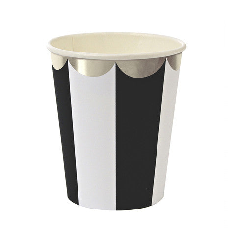 Stripe black cups