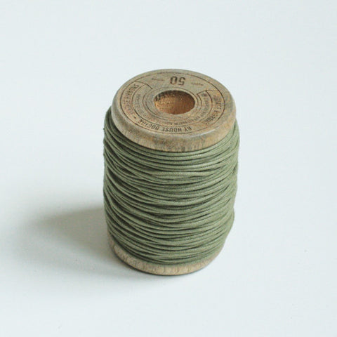 Army green yarn