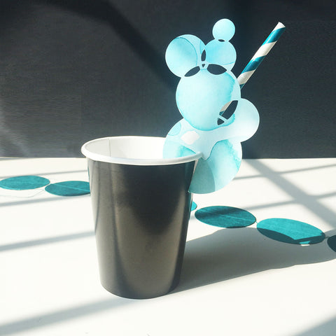 Cup decoration bubbles
