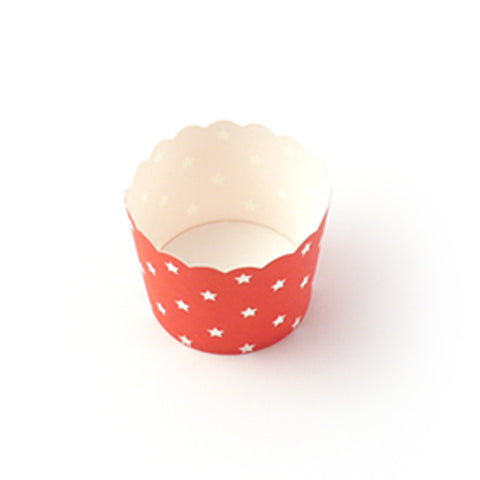 Red candy cup