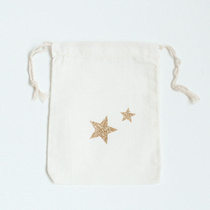 Two stars cotton bag