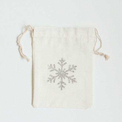 Snowflake 2 cotton bag
