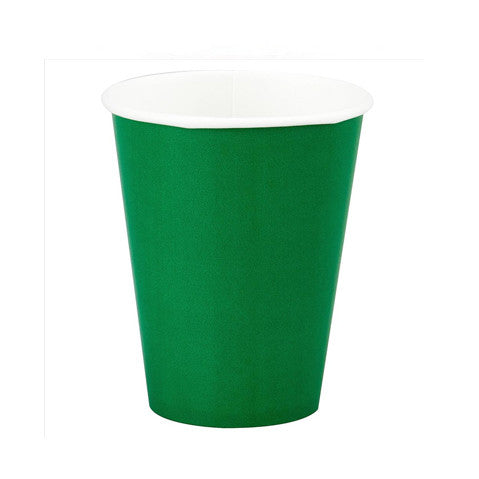 Green-paper-cups