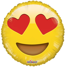 Smiley in love Balloon Emoji