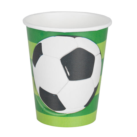 Football paper cup