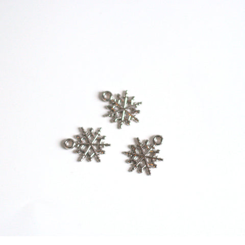 Charms snowflakes