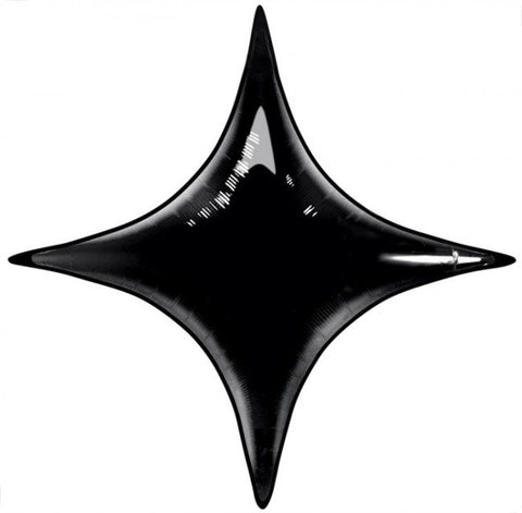 Four point star balloon