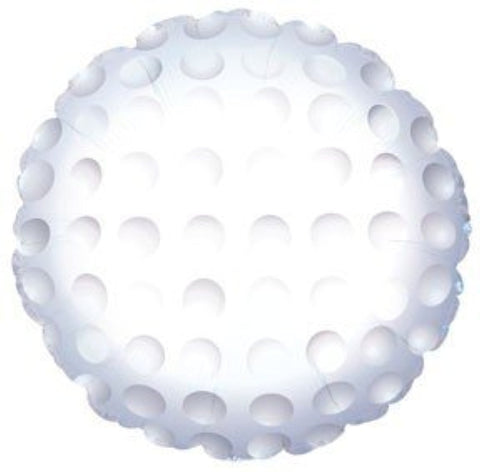 Golf ball balloon