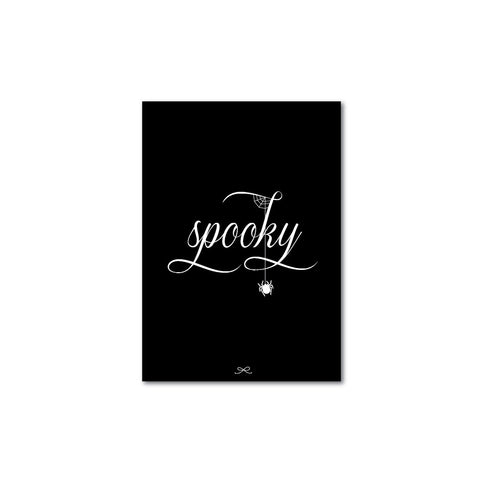 Printable spooky
