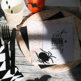 Paper deco spiders