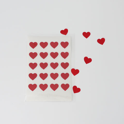 Stickers⎟Red hearts