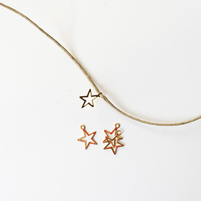 Charms cutout star