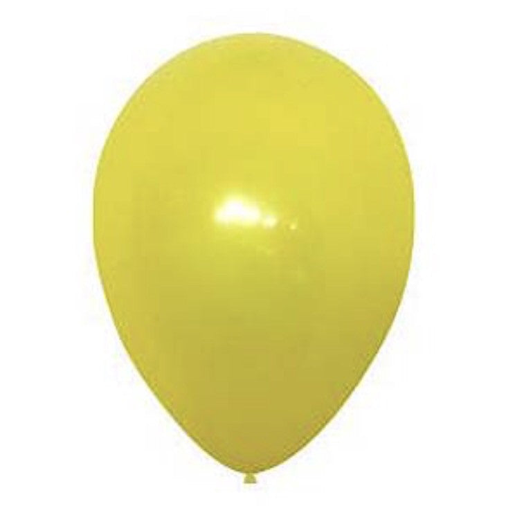 Balloon fashion yellow
