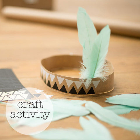 Craft activity⎟Indian headbands