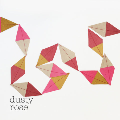 Garland kite multi dusty rose