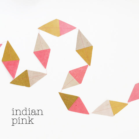 Garland kite multi indian pink