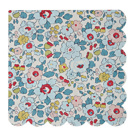 Liberty of London napkins blue